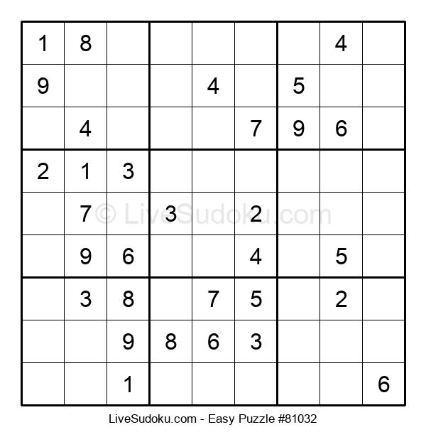 Beginners Puzzle #81032