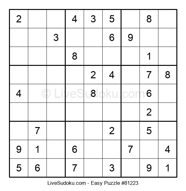 Beginners Puzzle #81223