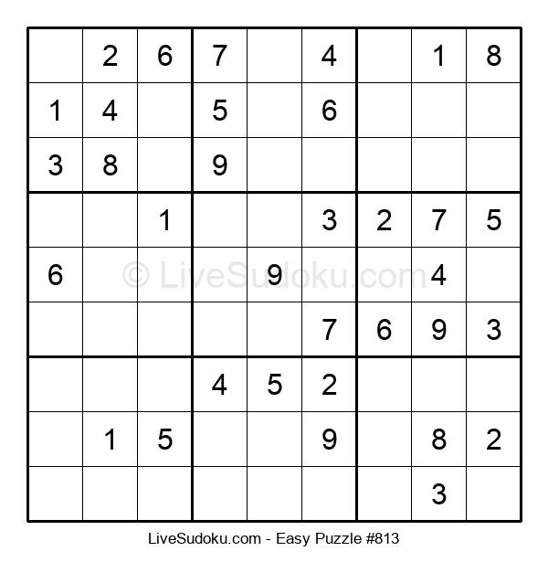 Beginners Puzzle #813
