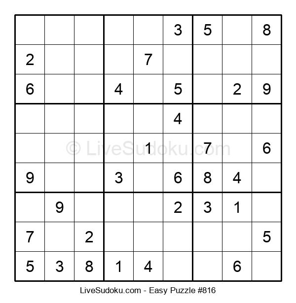 Beginners Puzzle #816