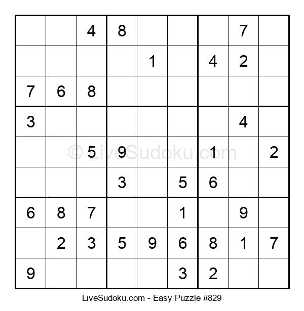 Beginners Puzzle #829