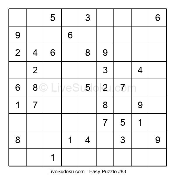 Beginners Puzzle #83