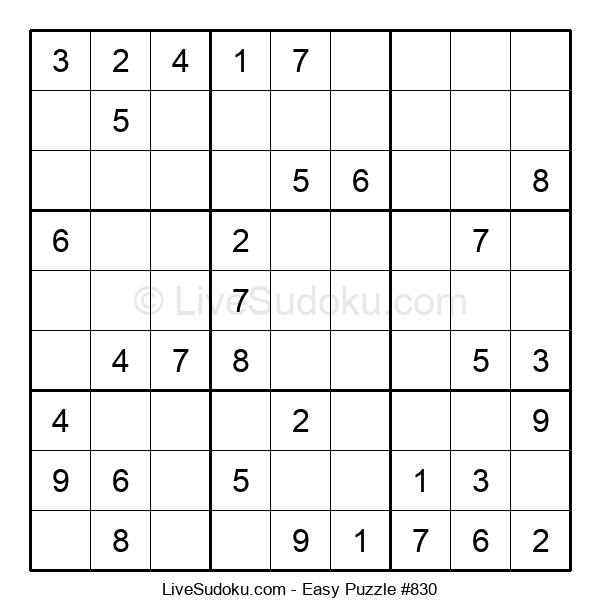 Beginners Puzzle #830