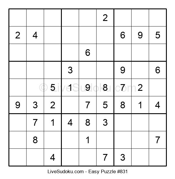 Beginners Puzzle #831