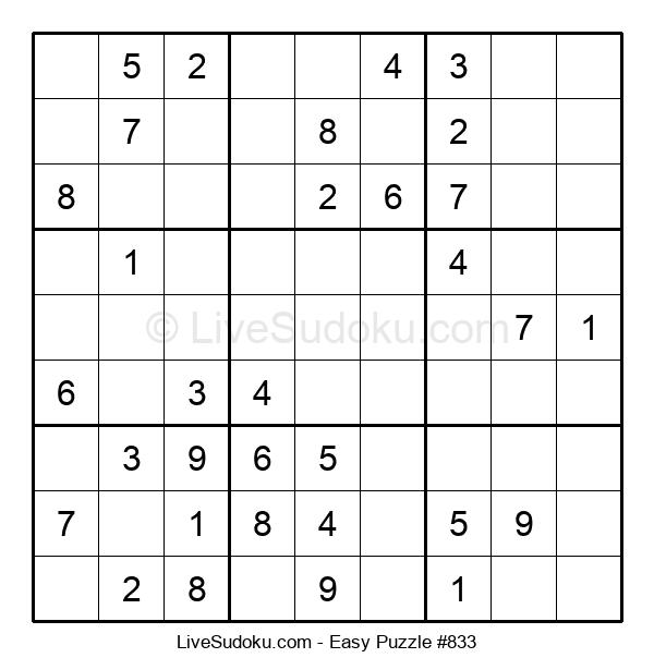 Beginners Puzzle #833