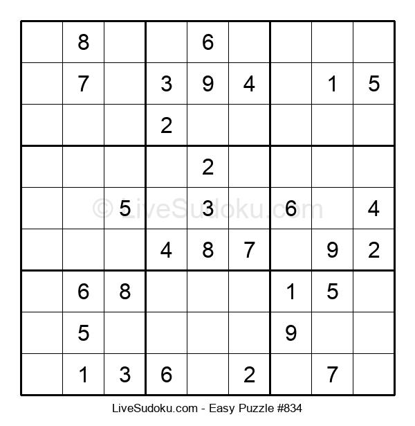 Beginners Puzzle #834
