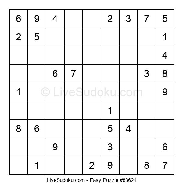 Beginners Puzzle #83621