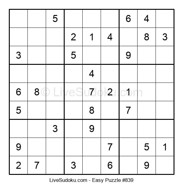Beginners Puzzle #839
