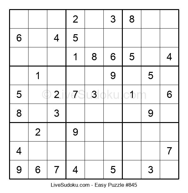 Beginners Puzzle #845