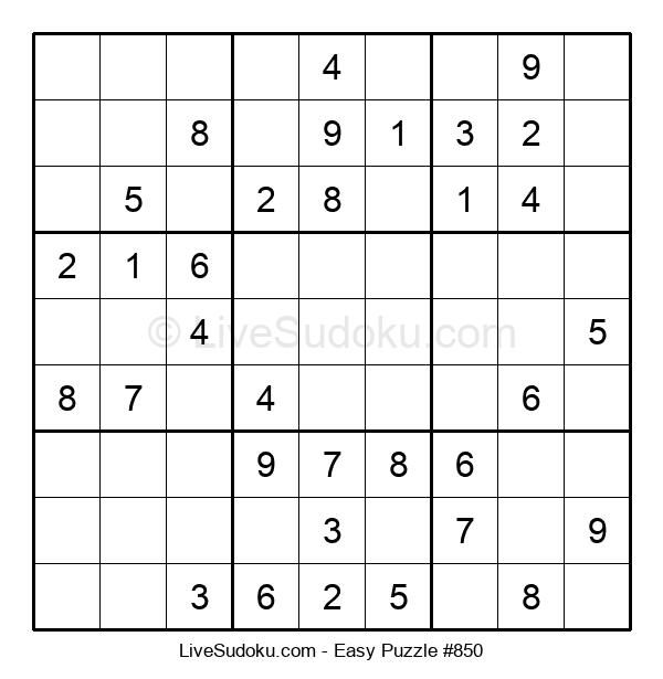 Beginners Puzzle #850