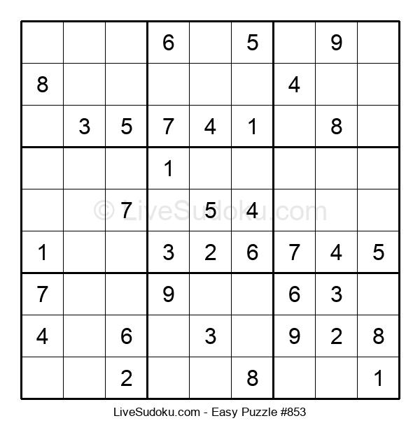 Beginners Puzzle #853