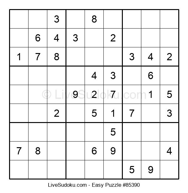 Beginners Puzzle #85390