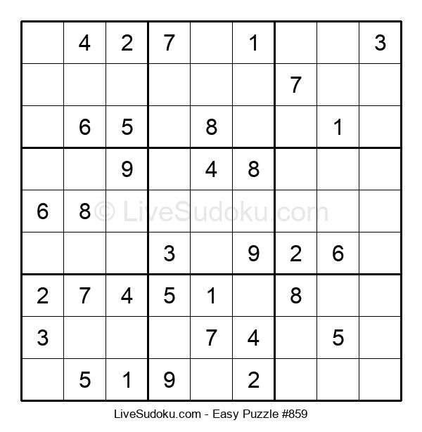 Beginners Puzzle #859