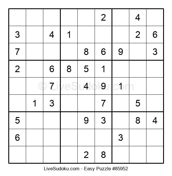 Beginners Puzzle #85952