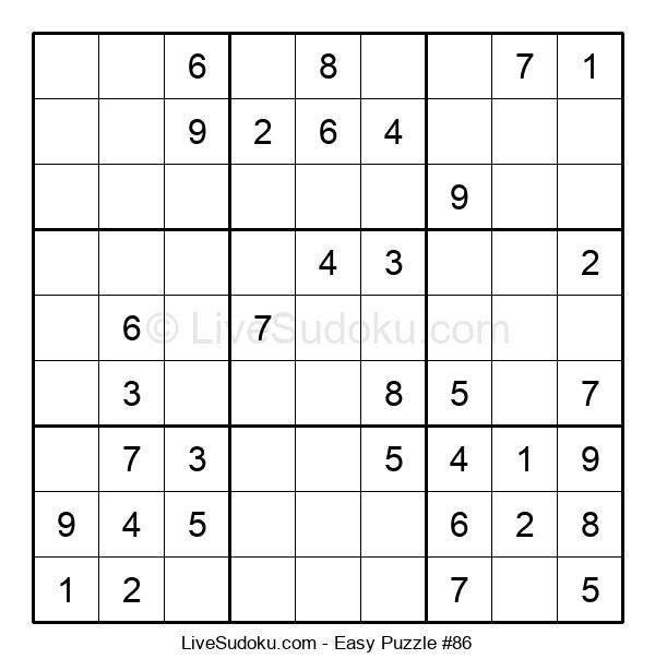 Beginners Puzzle #86
