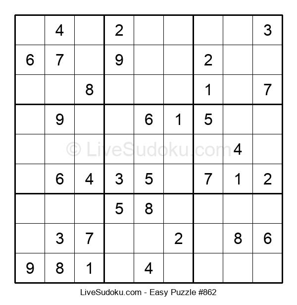 Beginners Puzzle #862