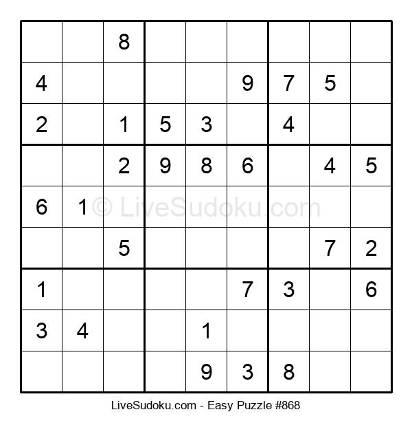 Beginners Puzzle #868