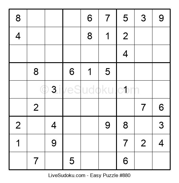 Beginners Puzzle #880