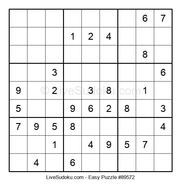 Beginners Puzzle #89572