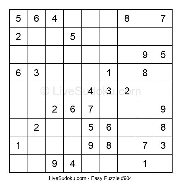 Beginners Puzzle #904