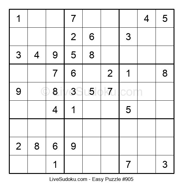 Beginners Puzzle #905