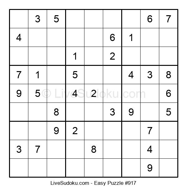 Beginners Puzzle #917