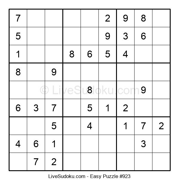 Beginners Puzzle #923