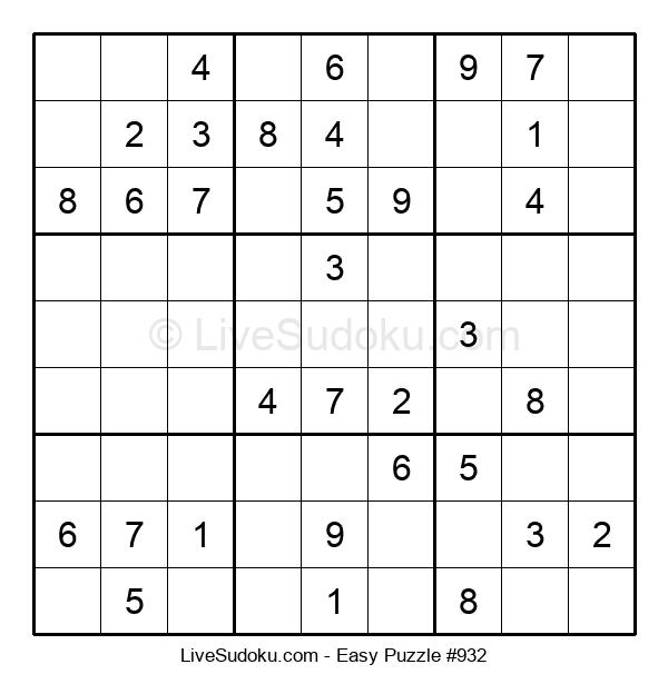 Beginners Puzzle #932