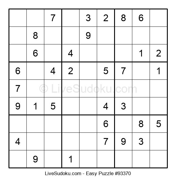 Beginners Puzzle #93370
