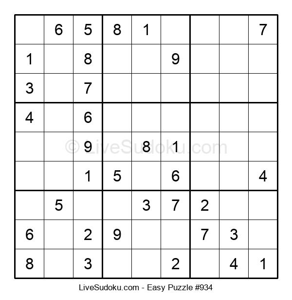 Beginners Puzzle #934