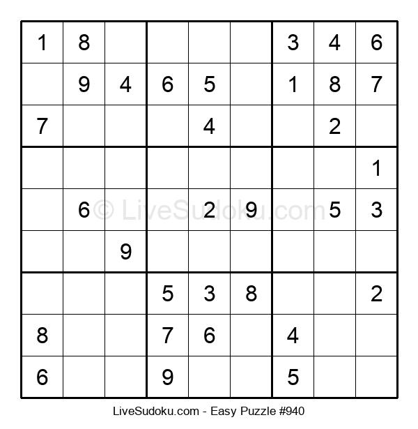 Beginners Puzzle #940