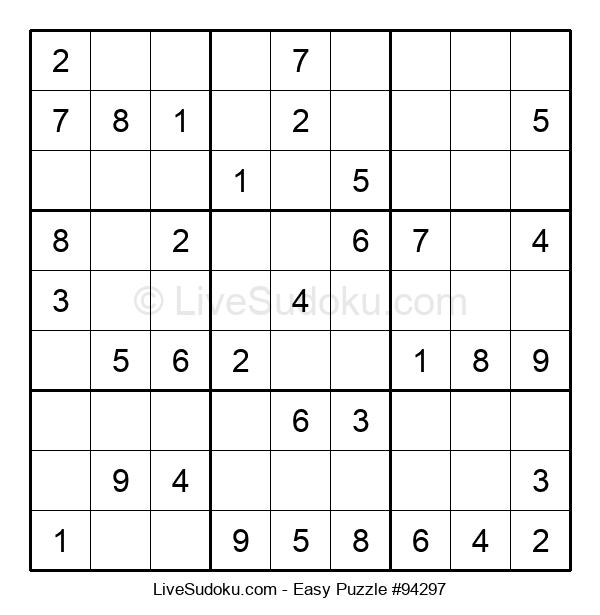 Beginners Puzzle #94297