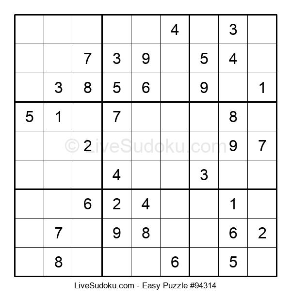 Beginners Puzzle #94314