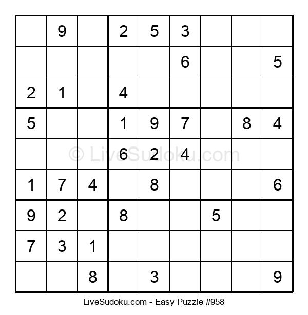 Beginners Puzzle #958
