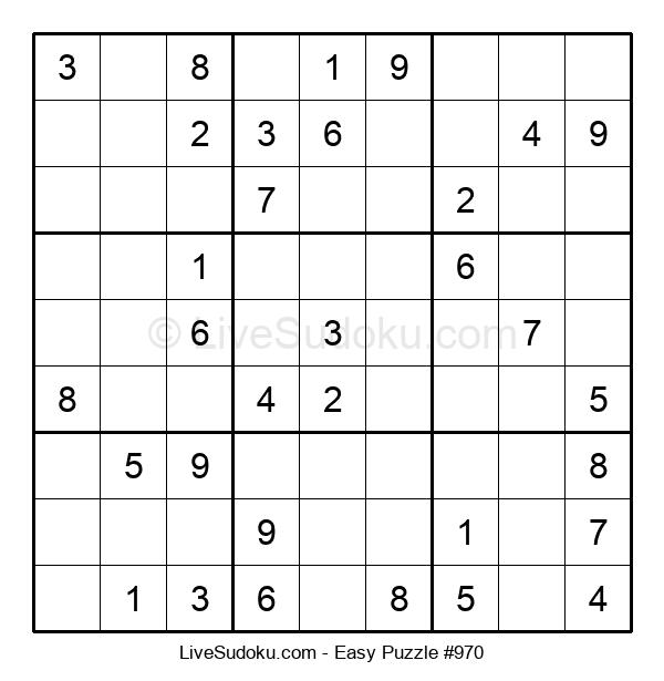 Beginners Puzzle #970