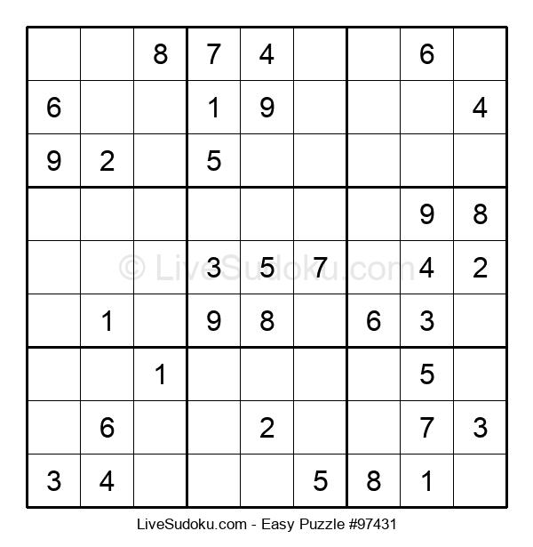 Beginners Puzzle #97431