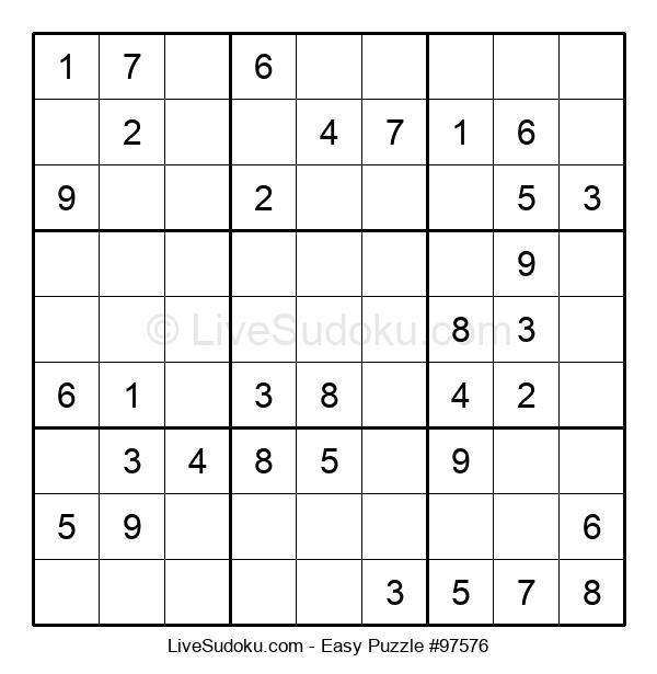 Beginners Puzzle #97576