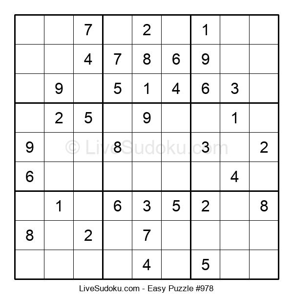 Beginners Puzzle #978