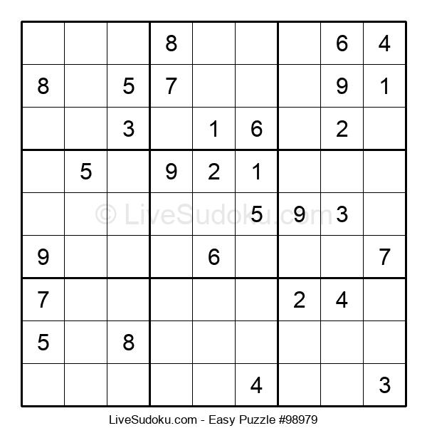 Beginners Puzzle #98979