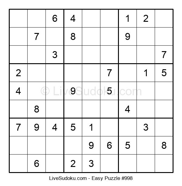 Beginners Puzzle #998