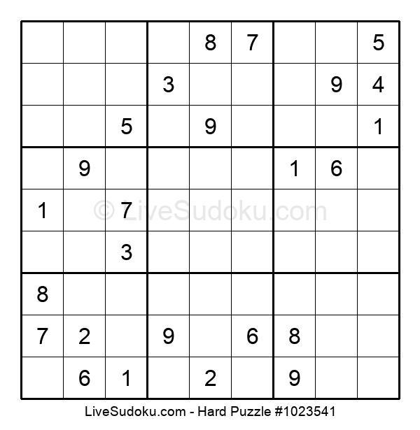 Hard Puzzle #1023541
