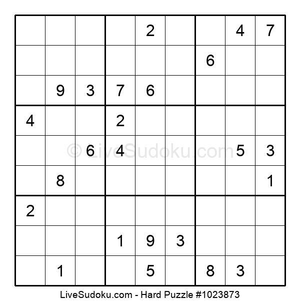 Hard Puzzle #1023873