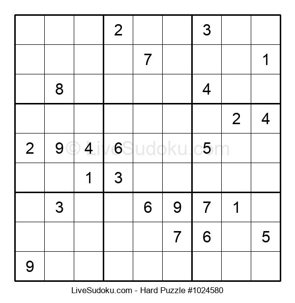 Hard Puzzle #1024580