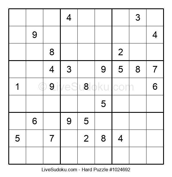 Hard Puzzle #1024692