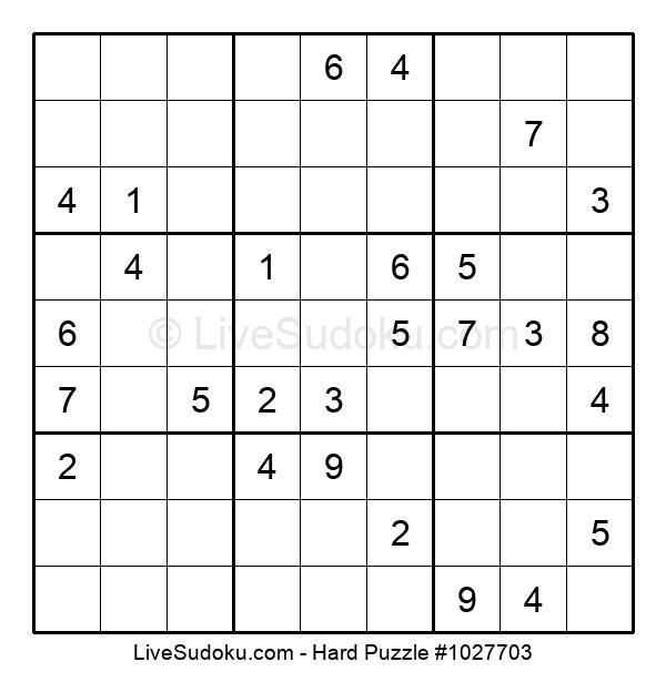 Hard Puzzle #1027703