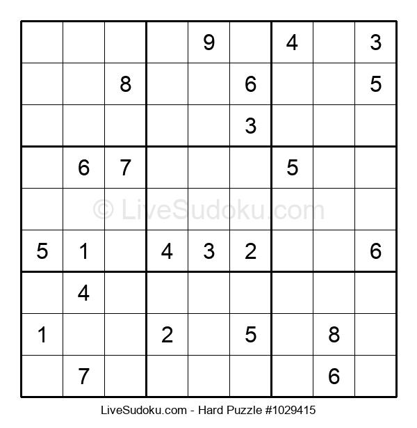 Hard Puzzle #1029415