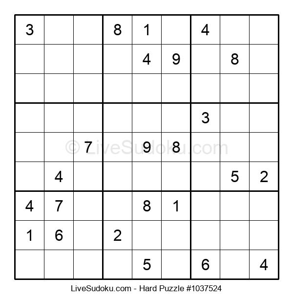 Hard Puzzle #1037524