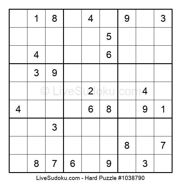 Hard Puzzle #1038790