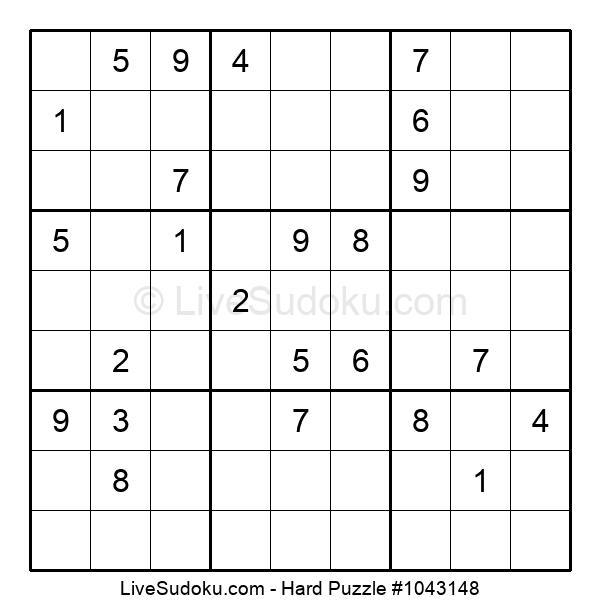 Hard Puzzle #1043148