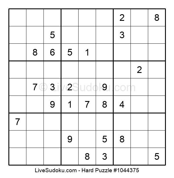 Hard Puzzle #1044375